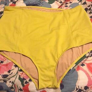 Kortni Jeane High Waisted Bikini Bottoms